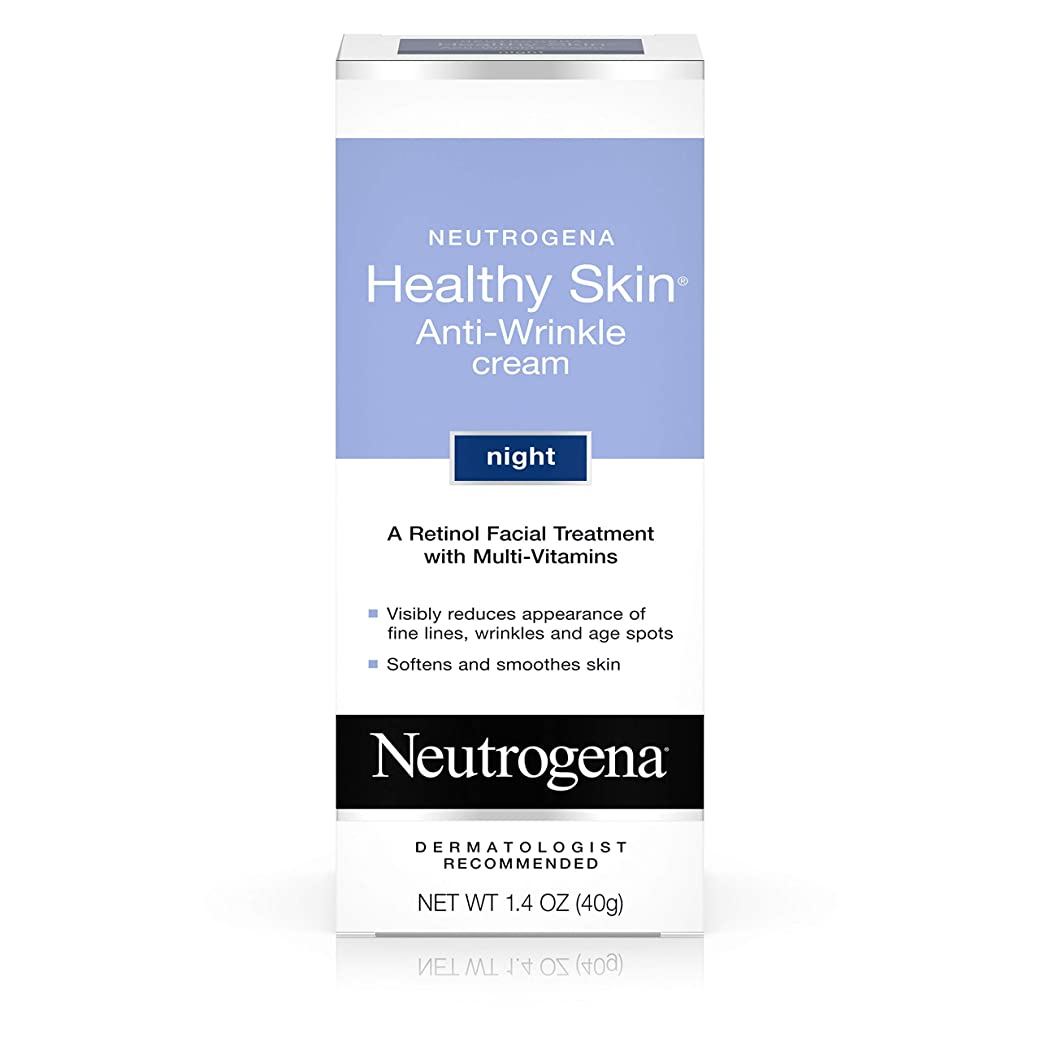 労働者無人召集するNeutrogena healthy skin anti wrinkle cream, original formula - 1.4 oz (並行輸入品)
