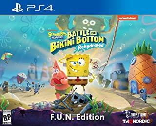 Spongebob Squarepants: Battle for Bikini Bottom - Rehydrated - F.U.N. Edition (PlayStation 4) - PlayStation 4 F.U.N. Edition