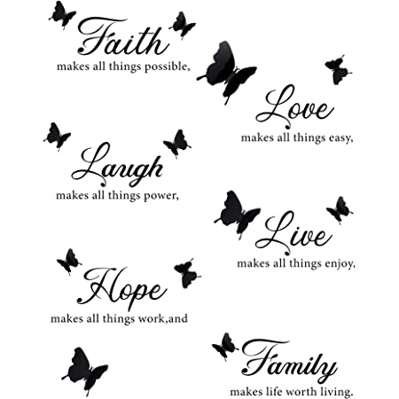 Pixnor Novelty In This House Home Rules Diy Removable Wall Quote Sticker For Room Decor Amazon Co Uk Diy Tools