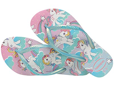 Havaianas Kids Slim My Little Pony Flip-Flop (Toddler/Little Kid/Big Kid) (White) Girls Shoes