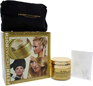 Peter Thomas Roth 24K Gold Pure Luxury Age-Defying Hair Mask & Bonnet System (Pack of 6)