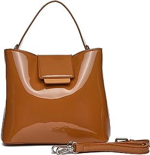 0e9ddc9f Bolsos mujer, bolsos de fiesta y diario, clutch marrón, bolsos charol,  bolsos