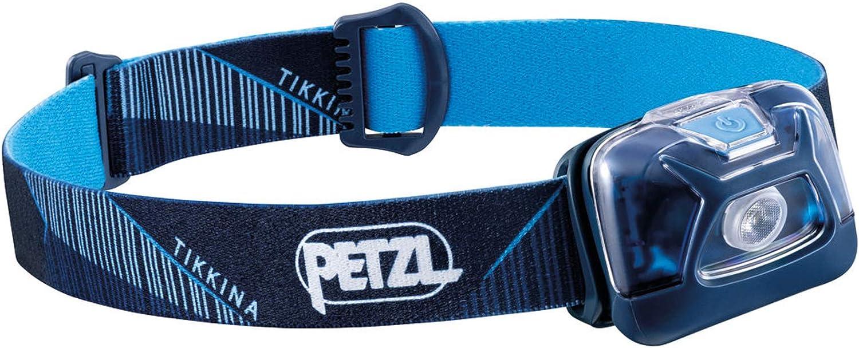 PETZL, TIKKINA Outdoor Headlamp with 250 Lumens for Camping and Hiking