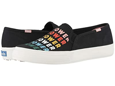 Keds Double Decker Empower (Black Multi Canvas) Women