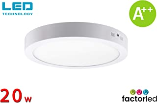 FactorLED ¡NOVEDAD! Downlight Panel Superficie LED Circular