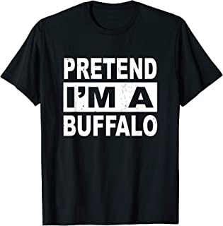 Pretend I'm a Buffalo Shirt Christmas Costume