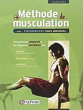 Livres Méthode de musculation : 110 exercices sans matériel PDF