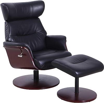Amazing Amazon Com Fjords Leather Norwegian Ergonomic Scandinavian Customarchery Wood Chair Design Ideas Customarcherynet