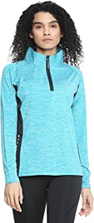 CHKOKKO Polyester Sports Gym Running Slim Fit Full Sleeves Zipper Jacket Or Casual Sweatshirts for Women