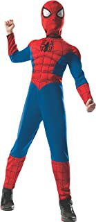 2-1 Ultimate Reversible Spiderman Costume for Kids