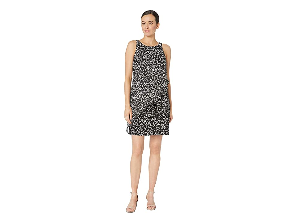 Tommy Hilfiger Mirage Daisy Dot Dress (Black Multi) Women
