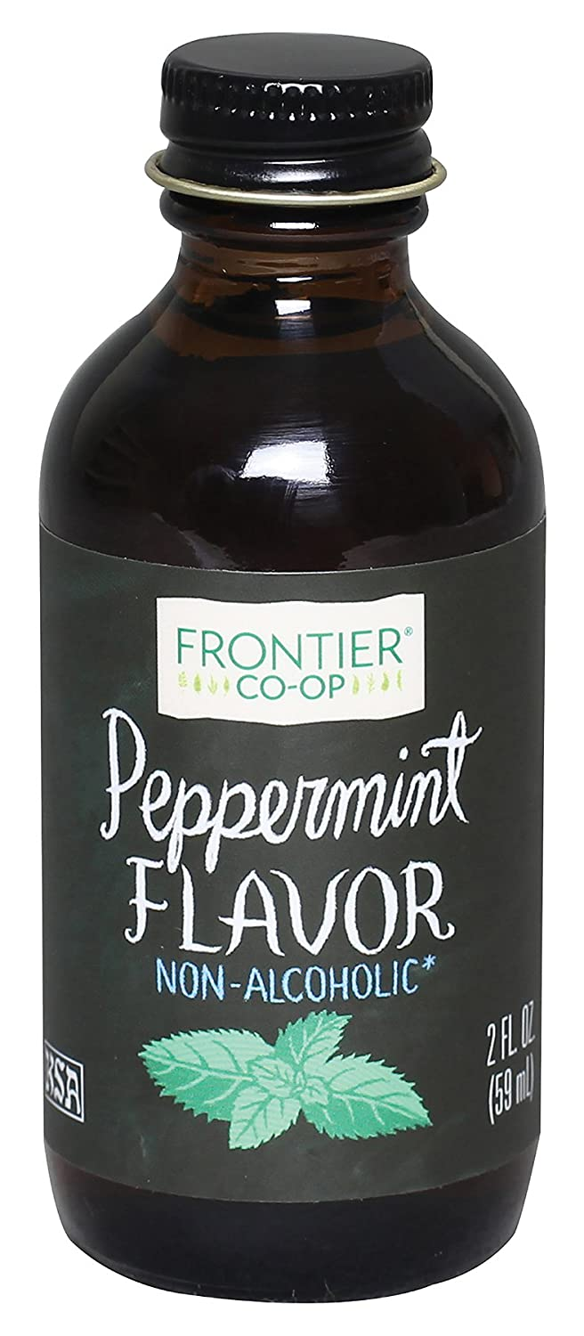 Frontier Natural Products Peppermint Flavor, A/F, 2-Ounce