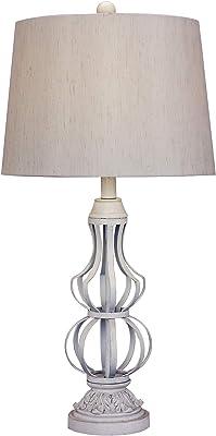 Amazon.com: CCSUN E27 E26 - Lámpara de mesa para dormitorio ...