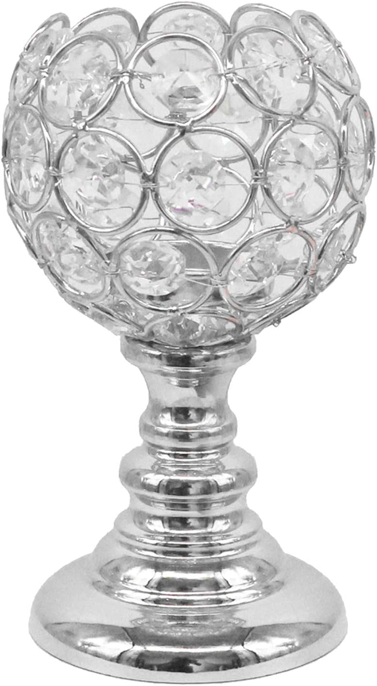 MagiDeal Crystal Candelabra Taper Candlest Modern Holder Ranking TOP3 Choice Candle