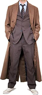 Magnoli Clothiers 10th Doctor WHO Style Time Lord Long Coat