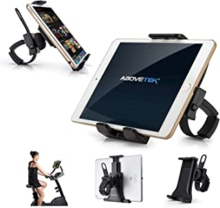 "AboveTEK Universal Handlebar Mount for iPad – iPhone - Tablet – Anti Shock 360 Degree 3.5"" to 12"" Expandable Pole Strap Ph..."