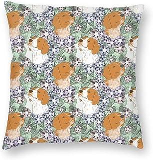 装飾的な正方形の投球枕カバーソファベッドルーム車のための花のフランスのブルターニュPortraits_1001クッションケース18 x 18インチ45 x 45 cm