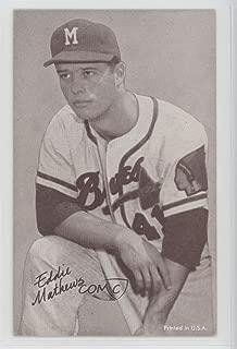 Eddie Mathews Ungraded COMC Good to VG-EX (Baseball Card) 1962 Exhibits Stats-on-Back - [Base] #EDMA