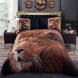 Jungle King Lion 3D Bed set