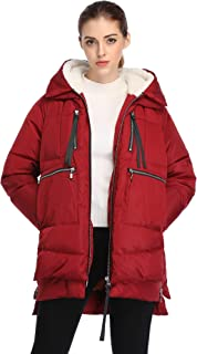 Best red long down jacket Reviews