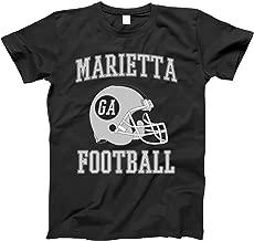 4INK Vintage Football City Marietta Shirt for State Georgia with GA on Retro Helmet Style