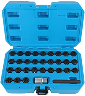 HEYNER Germany Mazd CX7 CX-7 Models 2006 To 2020 StillBull Locking Wheel Nuts Removal Key M12x1.5 Set 4 Locks Alloys Antitheft Protection Bolts HA1
