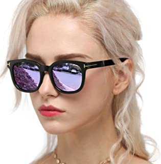 Fashion Sunglasses for Women Polarized Driving Anti Glare...