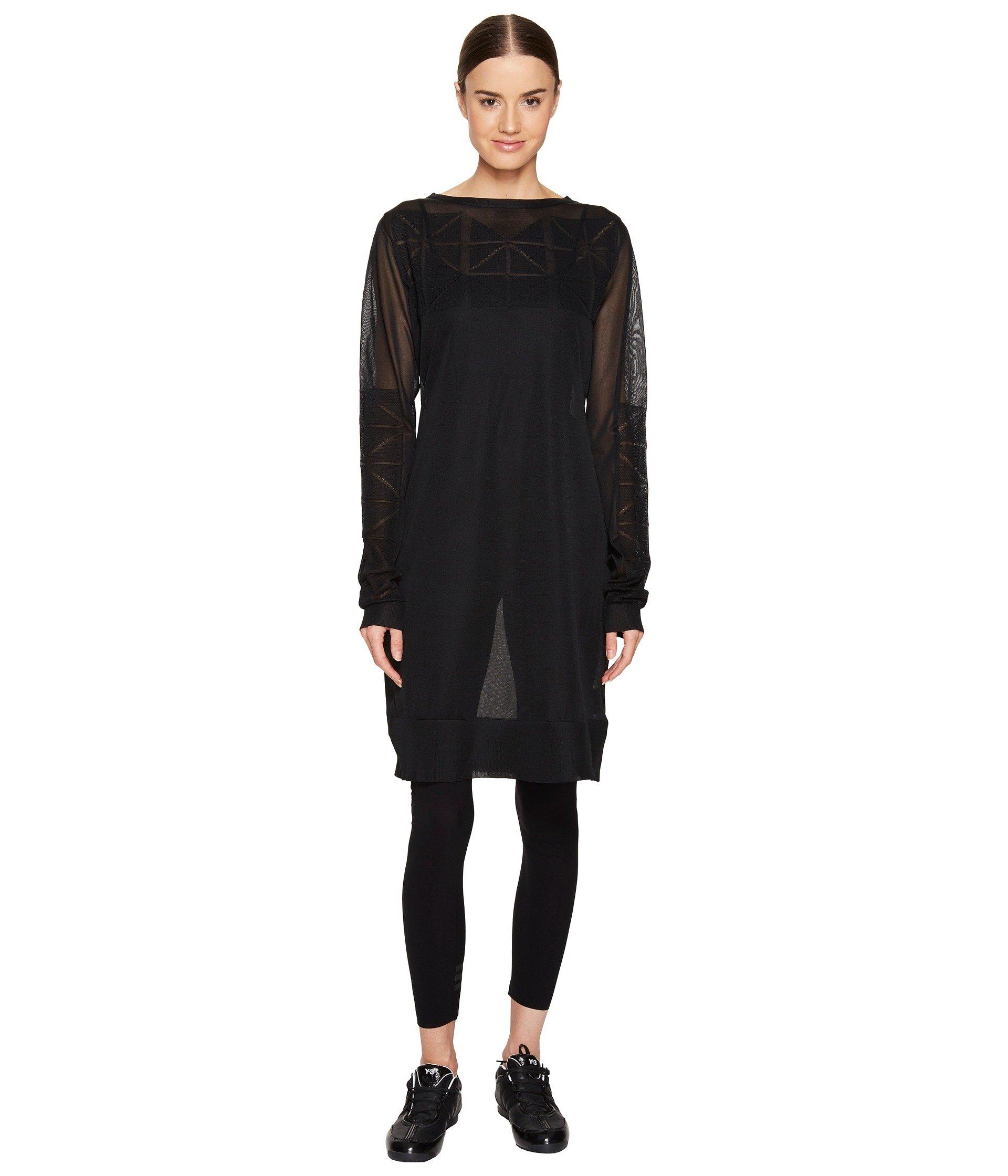 Blusa para Mujer adidas Y-3 by Yohji Yamamoto Knit Long Sleeve Top  + adidas en VeoyCompro.net