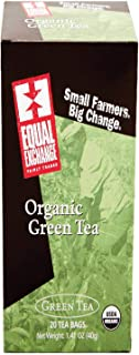 Equal Exchange, Tea Green Fair Trade Organic, 20 Count