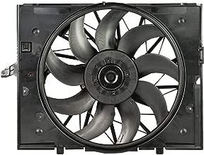 brushless radiator cooling fan