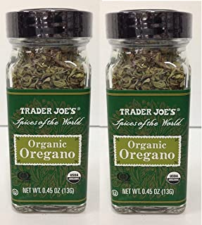 Trader Joe's Organic Oregano (Spices of the World) - Pack of 2
