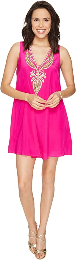Lilly Pulitzer - Owen Silk Trapeze Dress