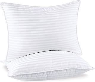Utopia Bedding Premium Oreillers (Lot de 2) - 50 x 70 cm Oreillers Rectangulaires pour Dormir - Tissu en Coton Mélangé ave...
