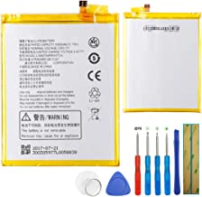 E-yiiviil Replacement Battery fit for ZTE Blade Z Max, ZTE Z982, Li3940T44P8h937238 (4050mAh) with Tools