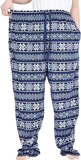 Extra Large Men's Pajama Pants Pyjama Bottoms Classic Checked Space Polar Fleece Lounge Wear Pyjama Trouser 250Kg,A2,6XL