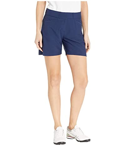 adidas Golf Club 5 Solid Shorts (Night Indigo) Women