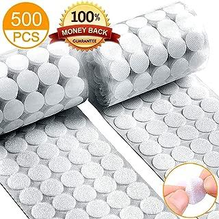 Self Adhesive Dots, Strong Adhesive 500pcs(250 Pairs) 3/4