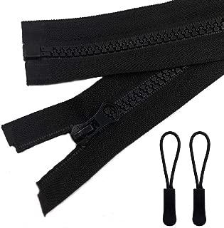 Best 24 inch black zipper Reviews