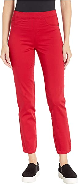 D-Lux Denim Pull-On Ankle in Red