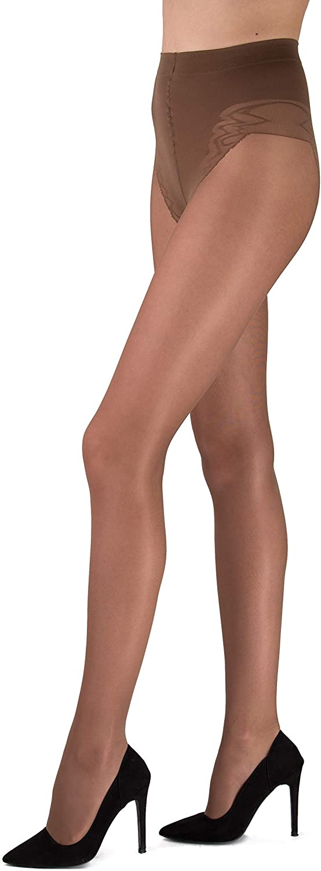 Pierre Cardin Toulon & Corsica 40 Den Body Slimming Semi Opaque Sheer Tights Stockings for Women