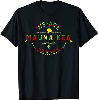 Kanaka Maoli Flag - We Are Mauna Kea T-Shirt T-Shirt