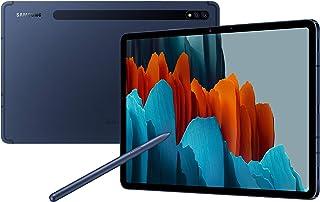 تابلت سامسونج جالكسي اس 7 (2020) بشاشة 11 انش يدعم LTE وبذاكرة رام 6 جيجا وذاكرة داخلية 128 جيجا، لون كحلي