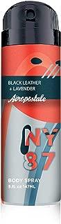 Aeropostale Avant Garde Series, Black Leather and Lavender, 5 Fluid Ounce