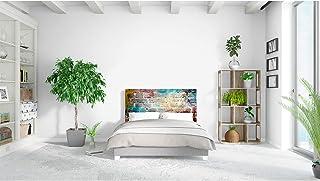 Cabecero Cama PVC Graffiti 150x60cm | Disponible en Varias Medidas | Cabecero Ligero, Elegante, Resistente y Económico