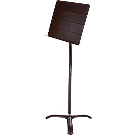 Amazon Basics Portable Sheet Music Stand - Black