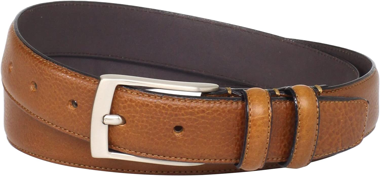 Florsheim Men's Italian Full Grain Leather Single Stitched Edge 32mm