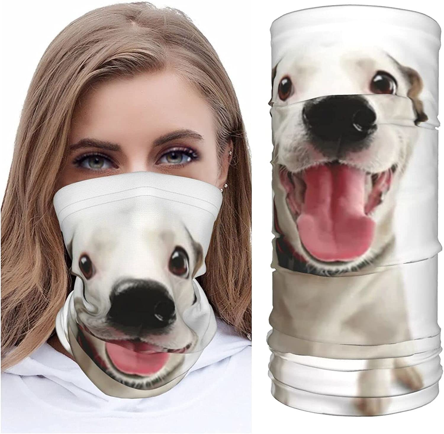 Funny Andalusian Ratonnaro Dog Summer Ice Silk Breathable Face Mask Neck Gaiter Scarf Bandanas for Fishing,Hiking,Running,Motorcycle and Daily Wear