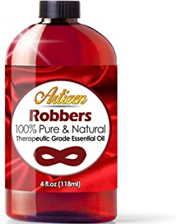 Artizen Robbers Blend Essential Oil (100% Pure & Natural - UNDILUTED) Therapeutic Grade - Huge 4oz Bottle - Perfect for Ar...