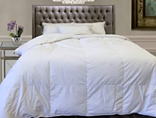 Natural Comfort Sales! Andes Deluxe 500+Fill-Power 75% White Down Comforter,King-104