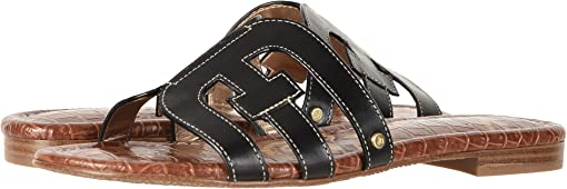 Black Vaquero Saddle Leather